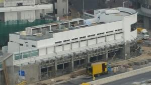 安達邨新家庭中心興建進 度(2016年1月1日)街景
